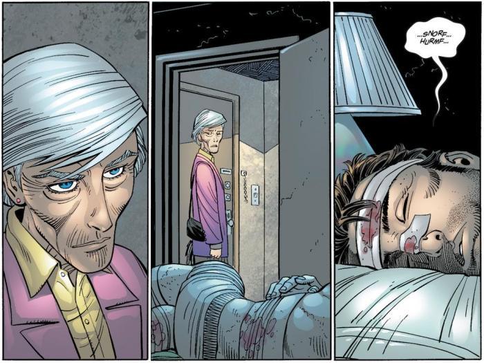 Amazing Spider-Man - Aunt May - Peter Parker - Identity - John Romita Jr.